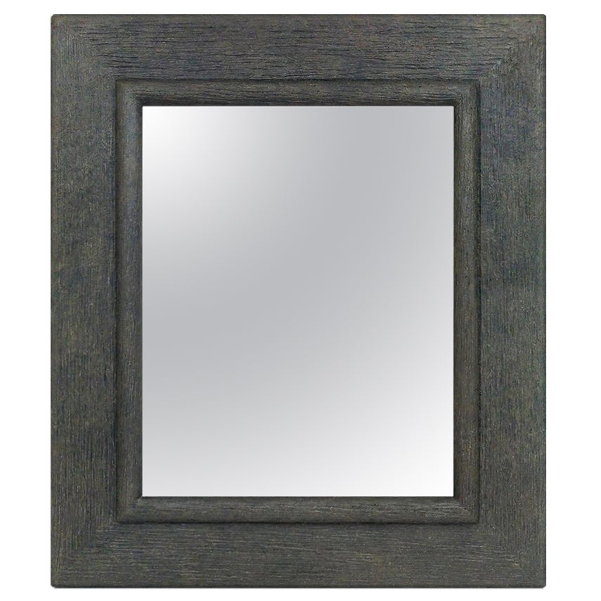 "French Contemporary Mirror, ""Anthracite"" by Pascal & Annie"