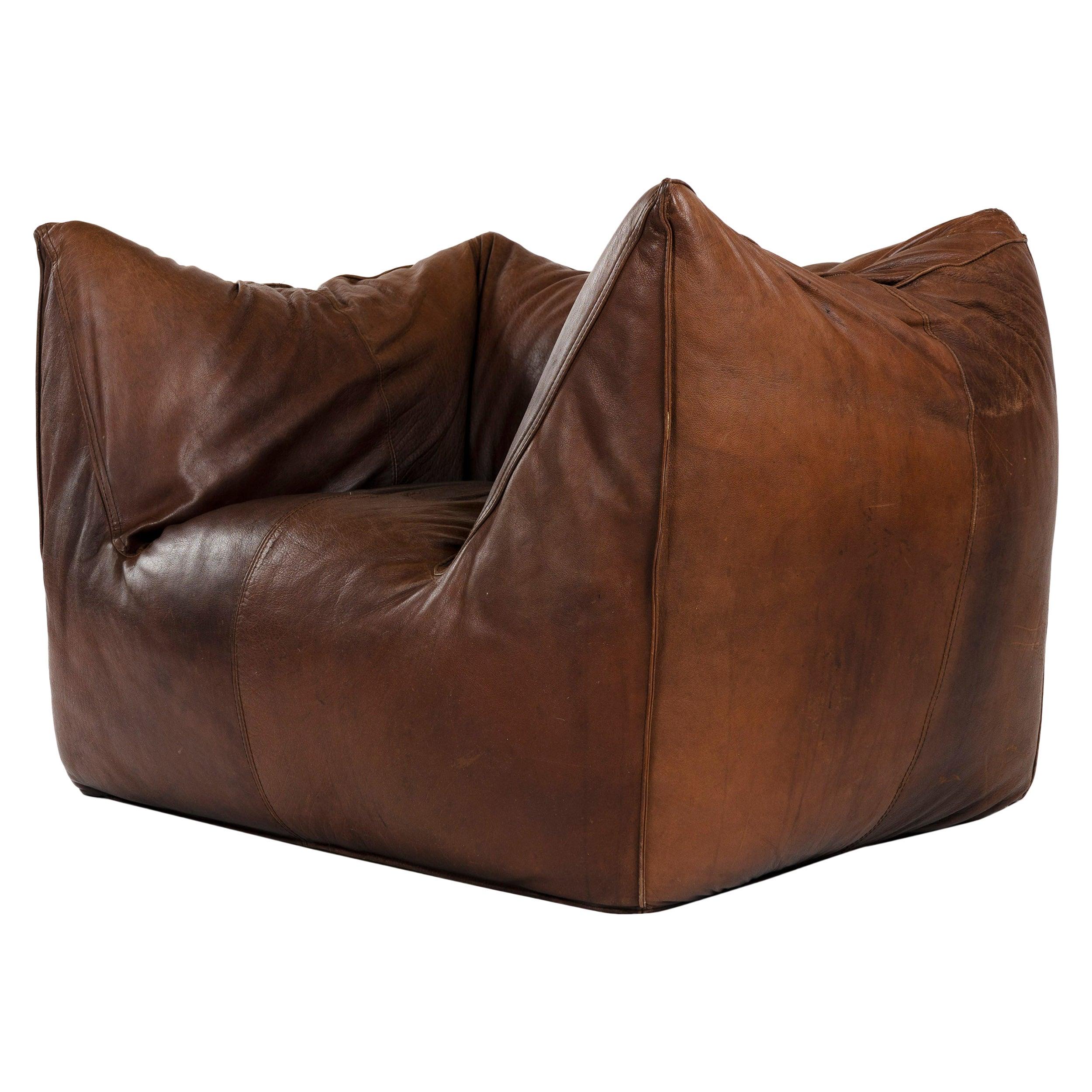 1970s Le Bambole Lounge Chair by Mario Bellini for B&B Italia