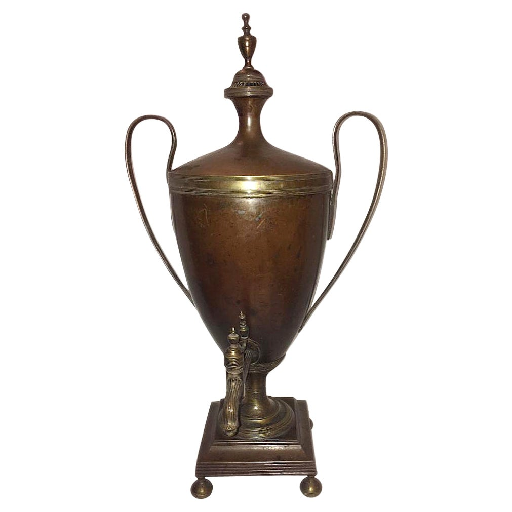 Antique Copper Russian Samovar