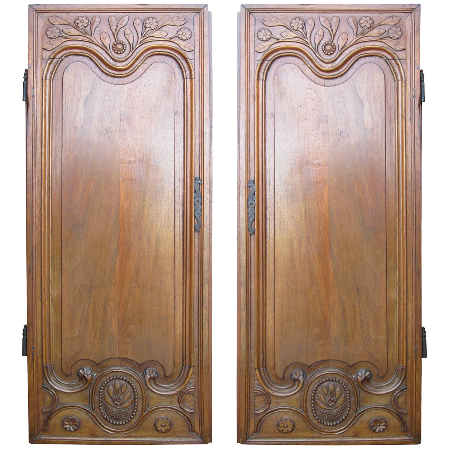Pair of 18th-19th Century French Carved Doors