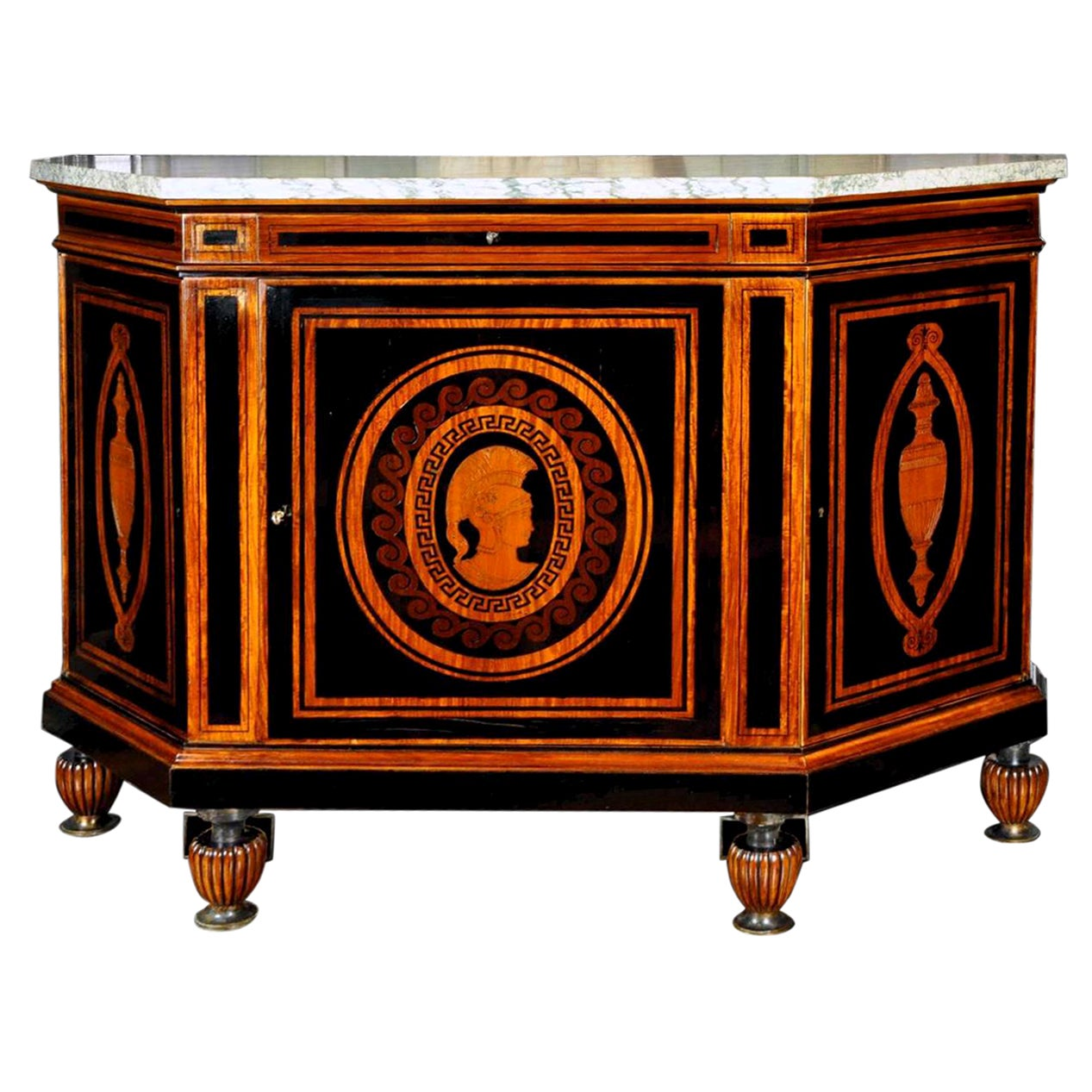 Curious French Sideboard Signed E. Duru