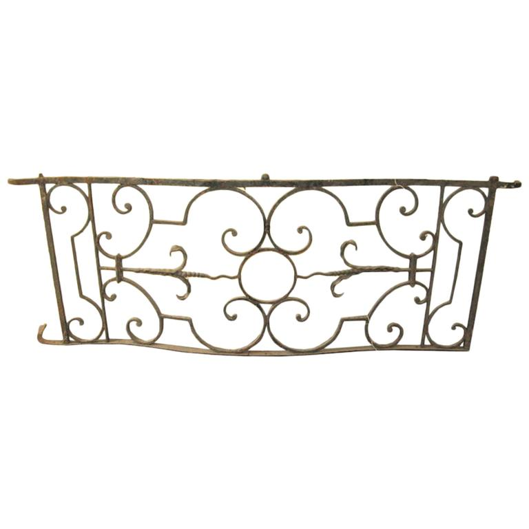 Balcony 18th Century French Wrought Iron