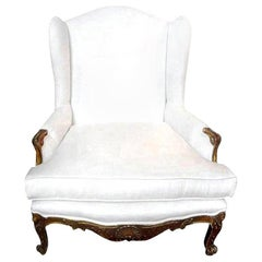 19th Century French Regence Style Giltwood Marquise