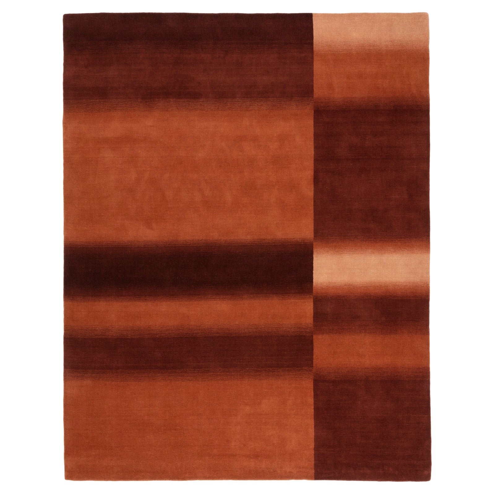 Check Rust Rug by CC-Tapis