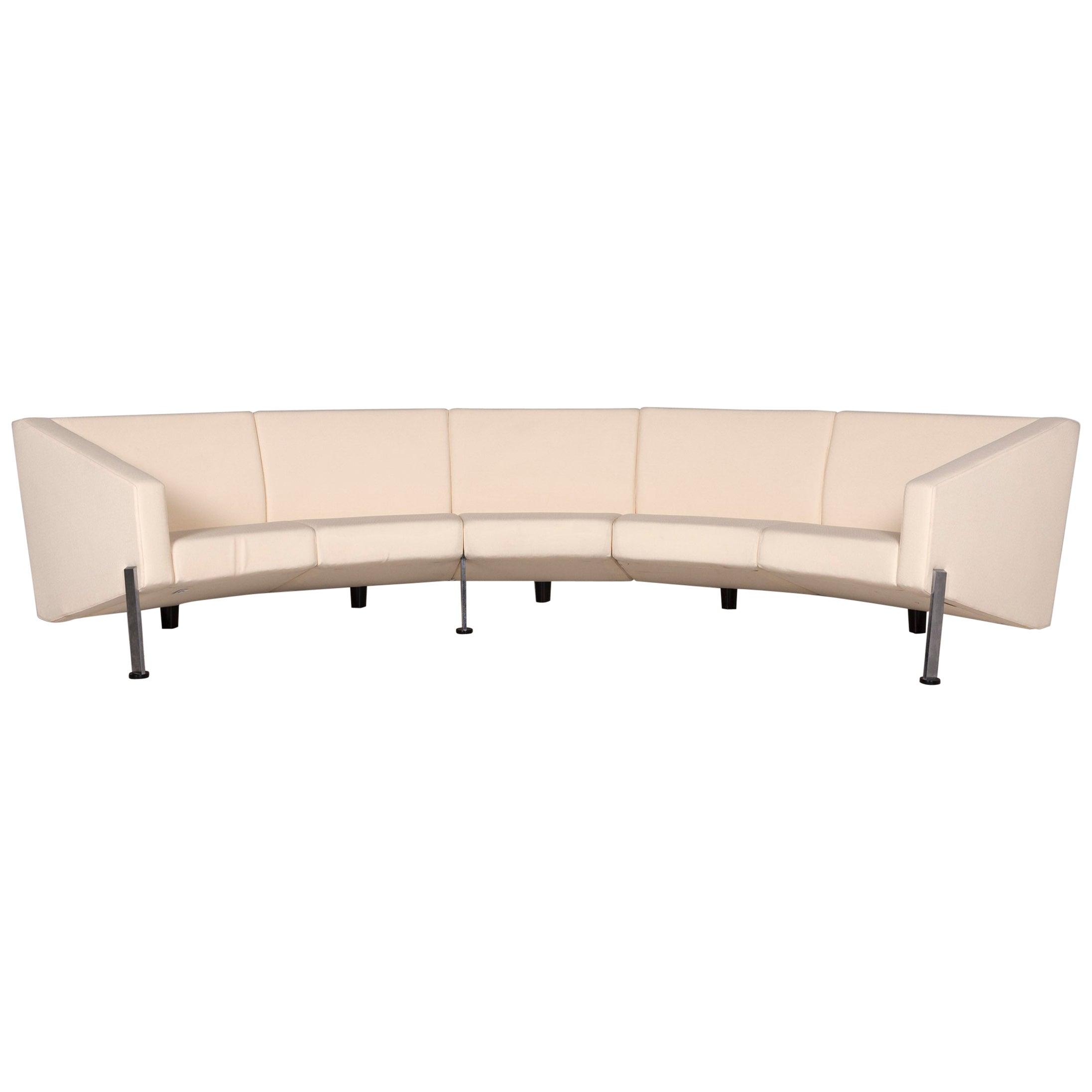 Fritz Hansen Decision Fabric Corner Sofa Cream Sofa Couch