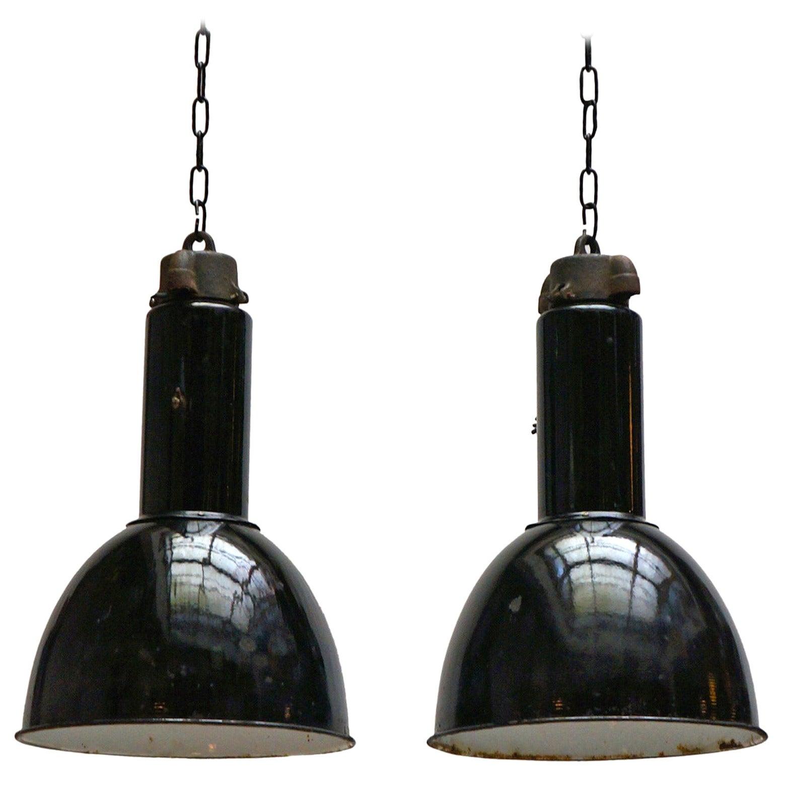 Enamel Industrial Factory Pendant Lights