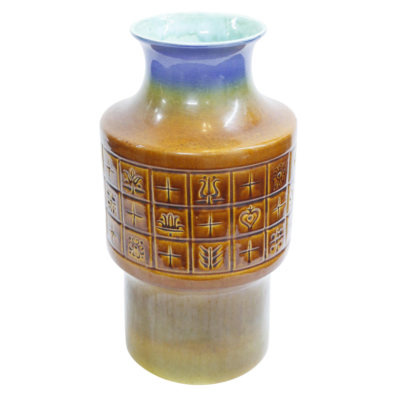 Large, Glazed Ceramic Vase, 1970s