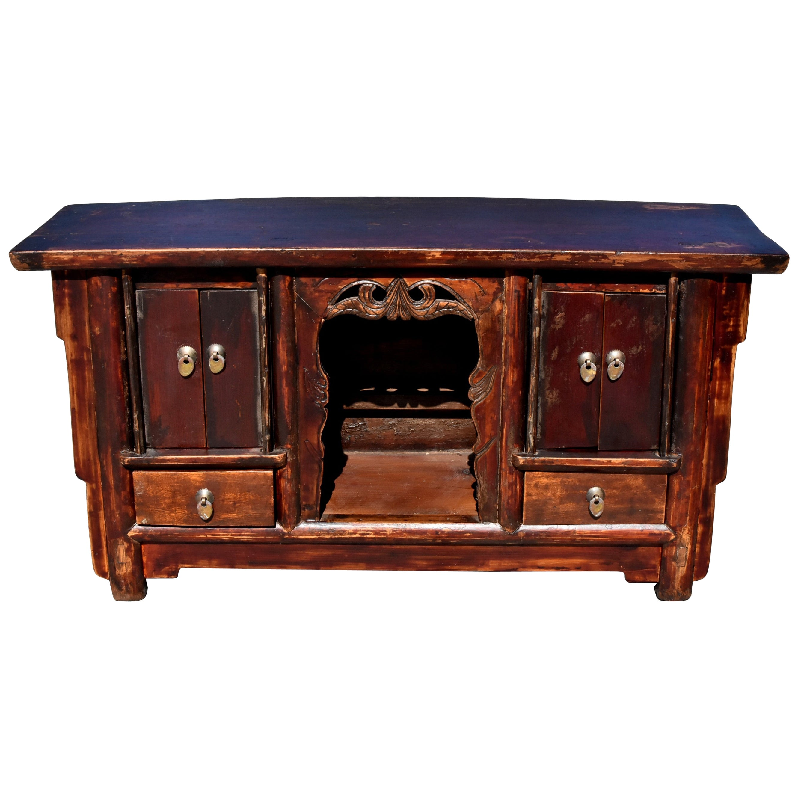 Antique Open Altar Table, Chinese Table Top Altar