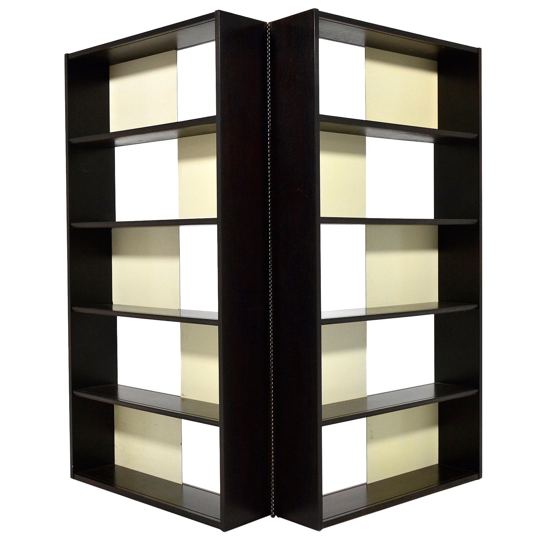 Glenn of California Folding Bookcase/ Display Shelf/ Room Divider
