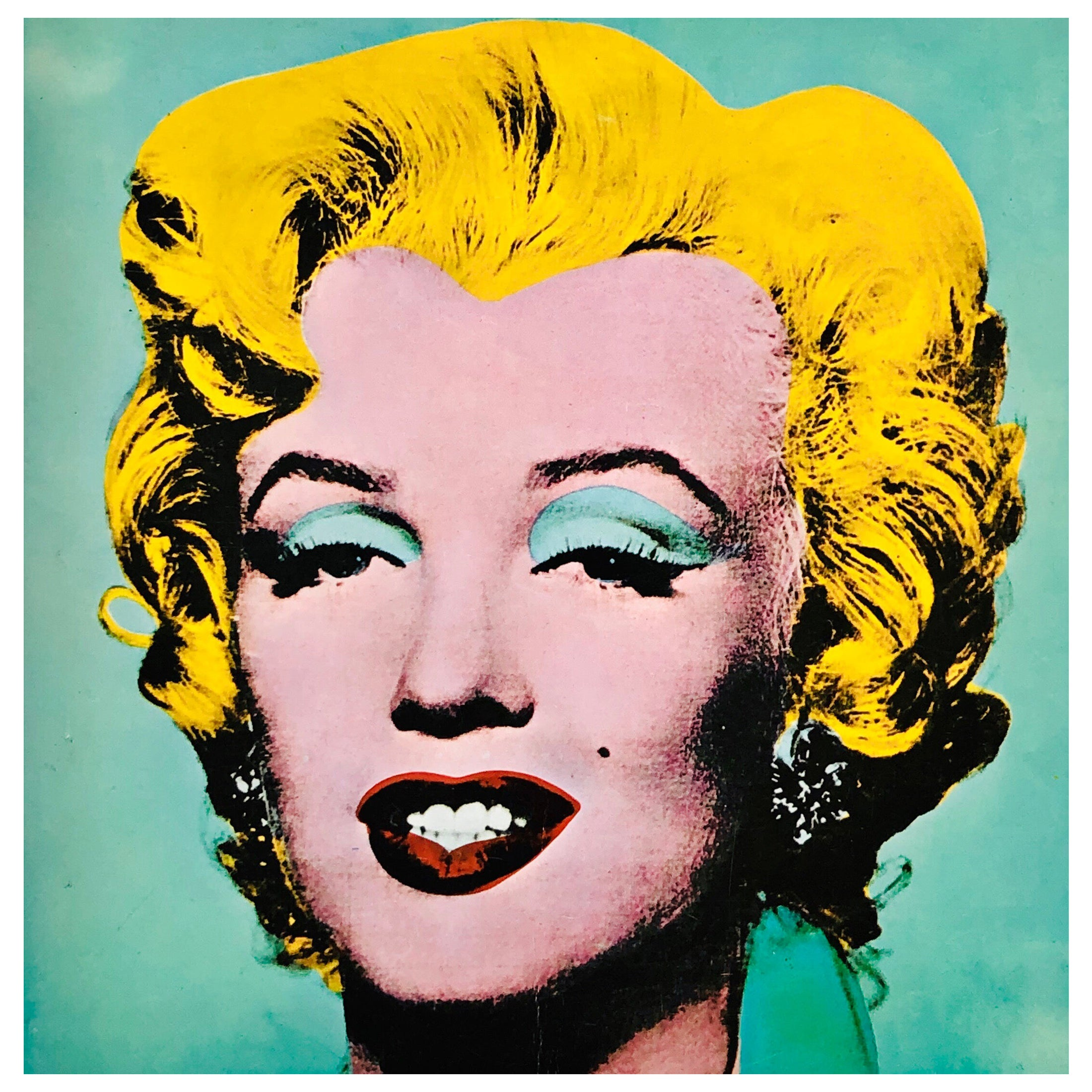 Andy Warhol Tate Gallery Catalog 1971 (Warhol Marilyn and Liz cover)