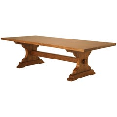 Custom built to Your Specifications an Authentic c1800 Style French Dining Table