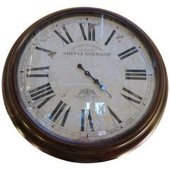 Chef Le Normand Wall Clock