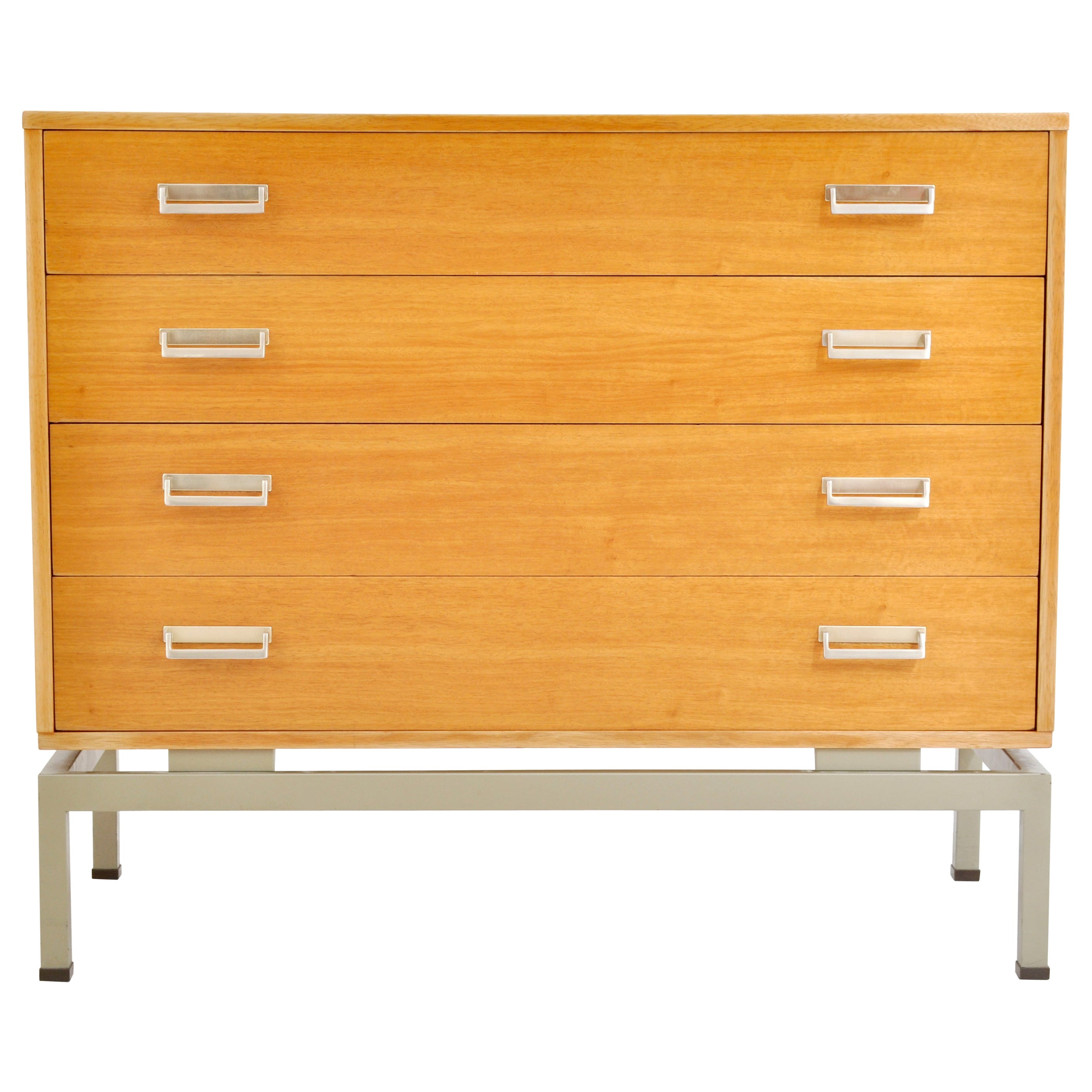 "Mid-Century Modern Danish Style Teak ""Limba"" Chest of Drawers by G Plan, 1950s"