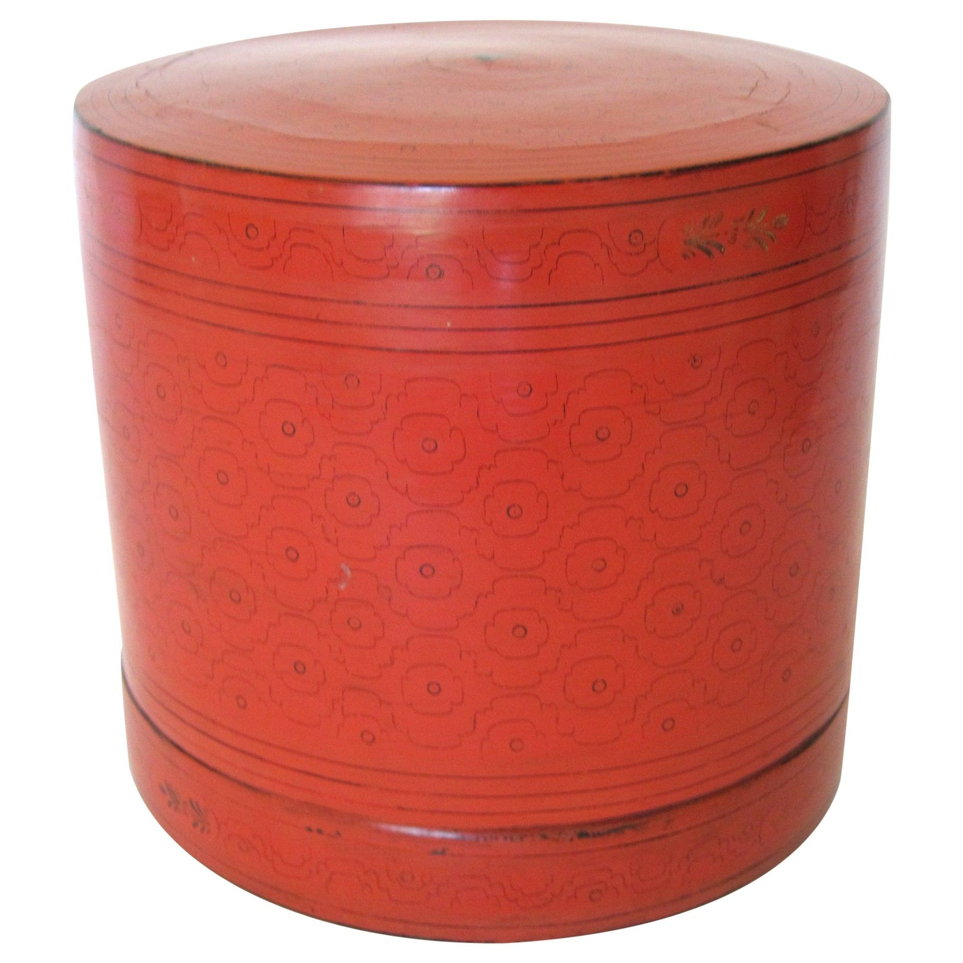 "Early 20th Century, Large Burmese Betel Box, ""Kun It"""