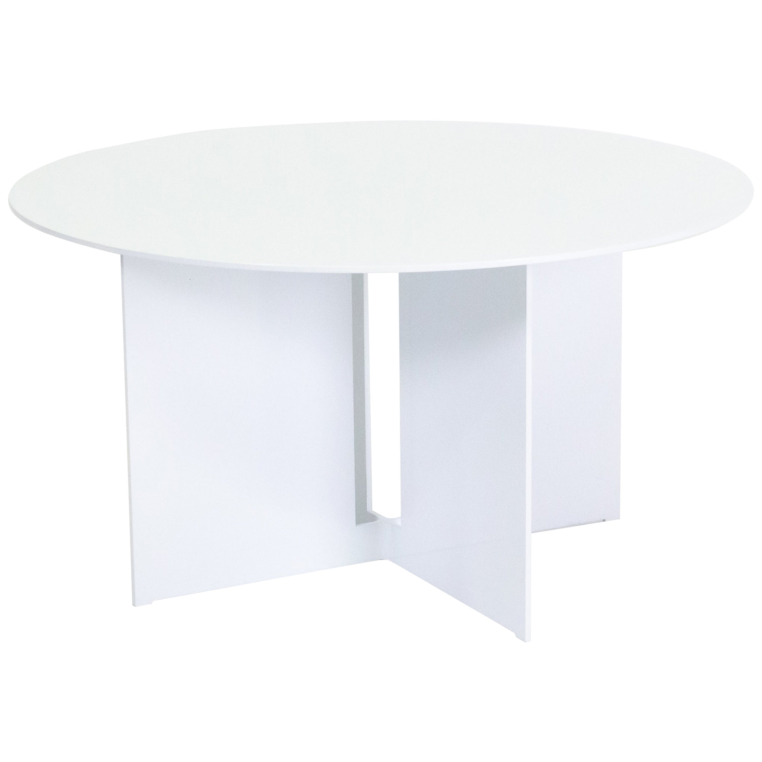 Mers Coffee Table in Aluminum Powdercoat White