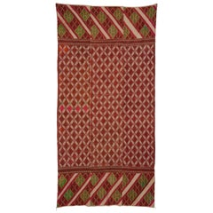 20th Century Pakistani Phulkari Embroidery Wall Hanging