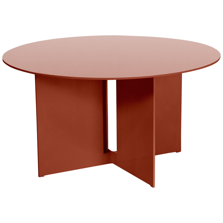 Mers Coffee Table in Aluminum Powdercoat Ochre