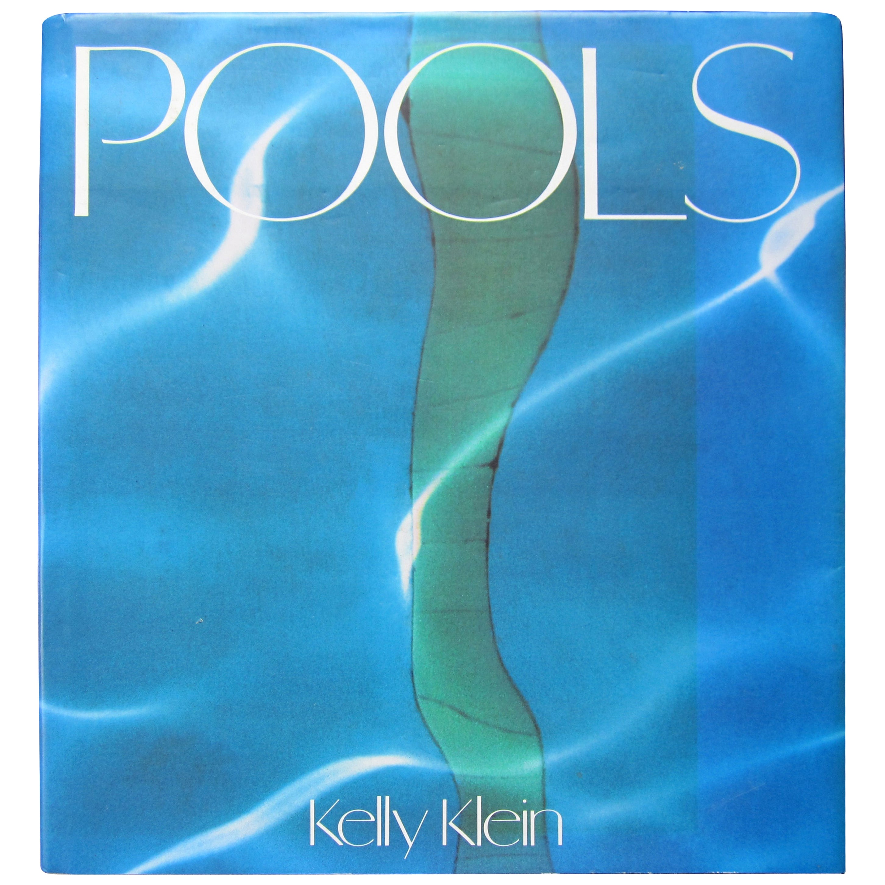 Signed POOLS Architecture Coffee Table or Library Book by Kelly Klein, 1992