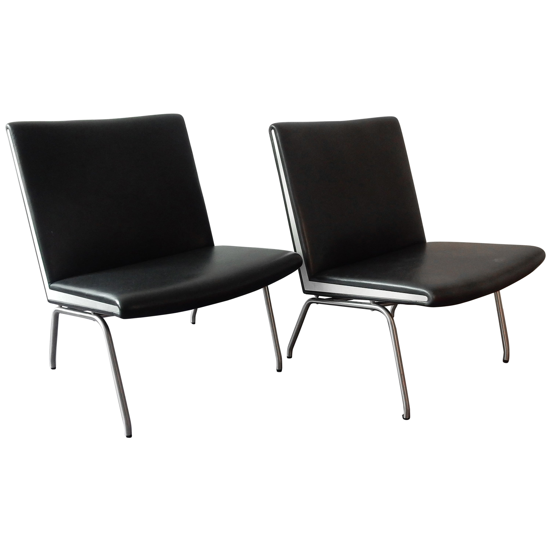 Ap 39 Airport Chair by Hans Wegner for Ap Stolen, Denmark 1950s-1960s