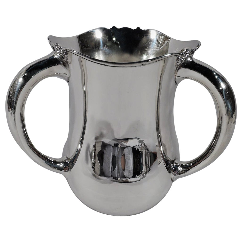 Antique American Sterling Silver Loving Cup Trophy