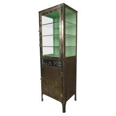 Refinished Vintage Display Cabinet