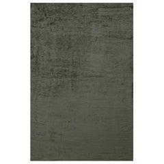 Contemporary Silk Gray Rug