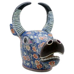 Ceramic Water Buffalo Tureen