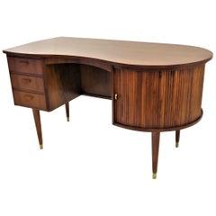 Rarely Seen 1950s Gunnar Tibergaard Nielsen Danish Desk