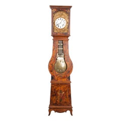 French 19th Century Pine Tall Case Clock