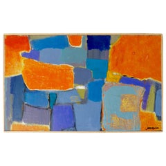 """Orange You Glad"", An Original Abstract Painting by Kenneth Joaquin"