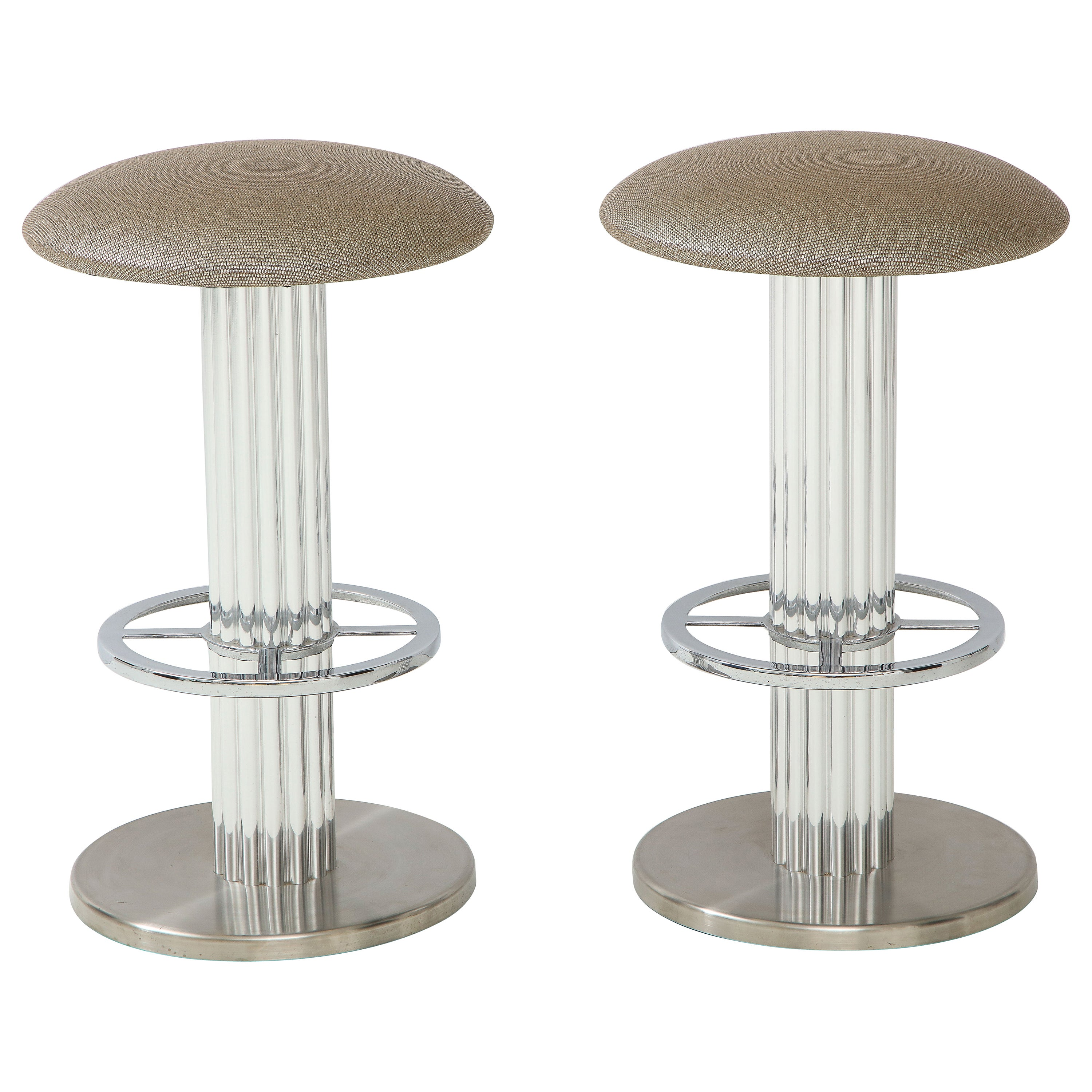 Pair of Designs for Leisure Bar Stools