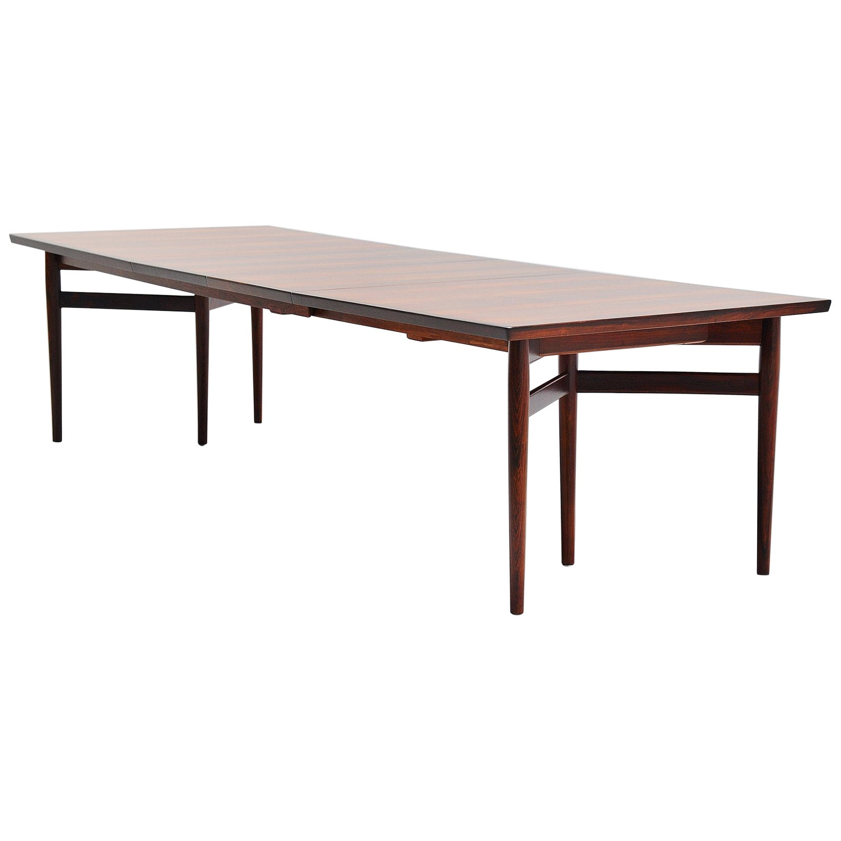 Arne Vodder Long Dining Table Sibast Mobler, Denmark, 1960