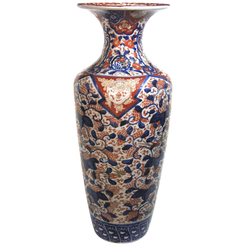 19th Century Japanese Imari Temple Vase