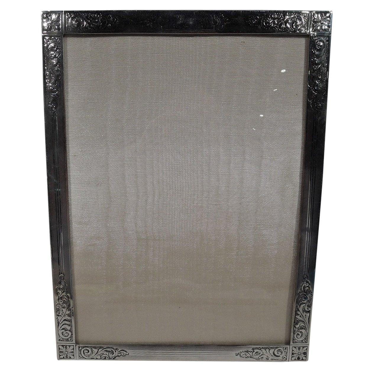 Antique Edwardian Sterling Silver Picture Frame by Birks