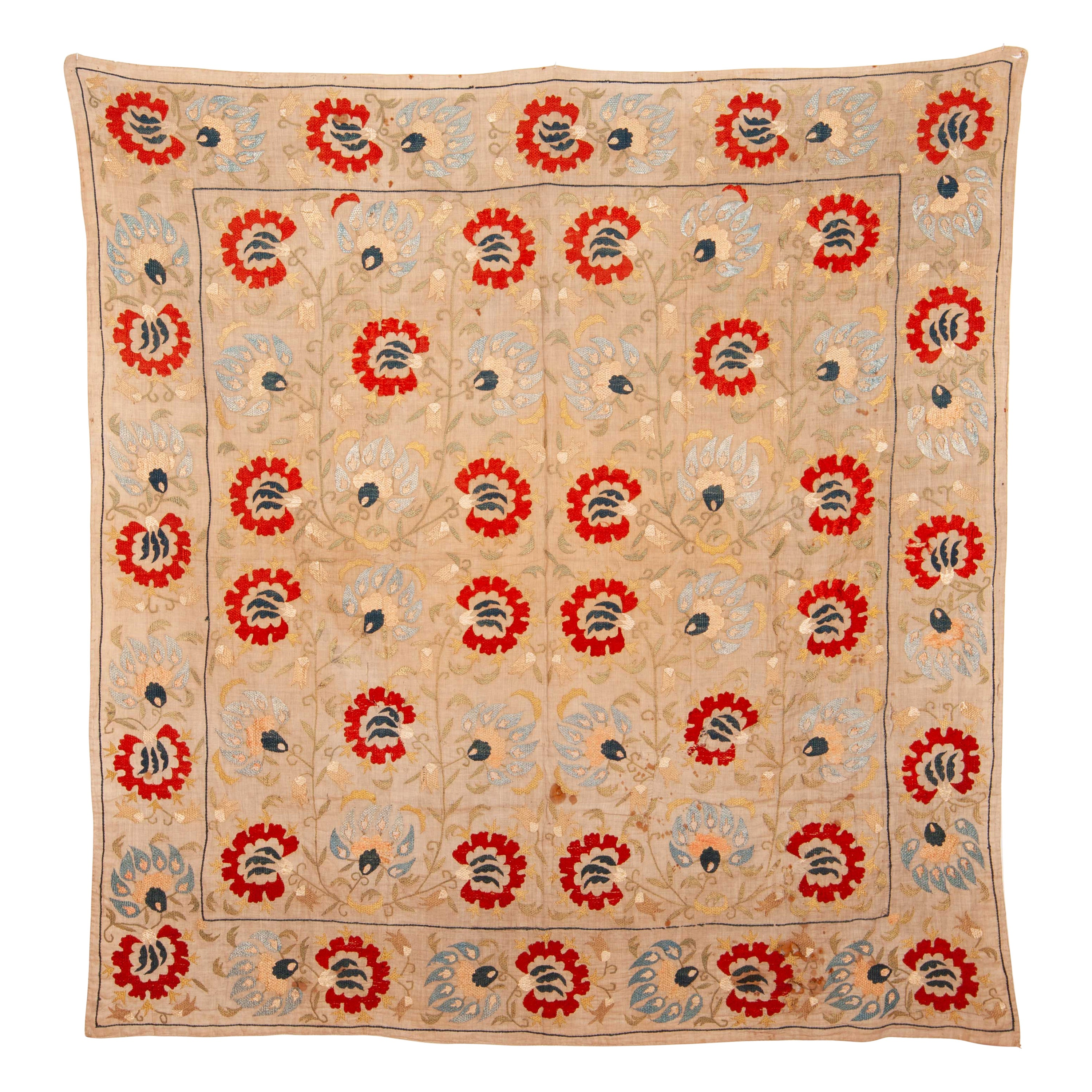 Ottoman Turkish Bokhce 'Wrapping Cloth', Early 19th Century