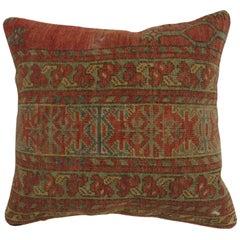 Tribal Afghan Rug Pillow