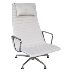 '1' Herman Miller Eames Aluminum Group Lounge Chair