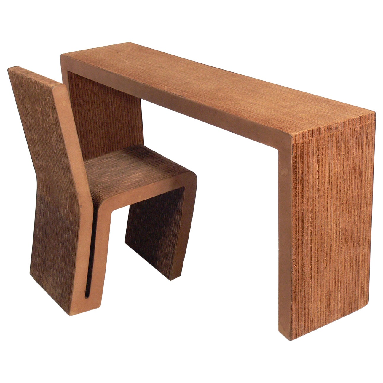 Frank Gehry Desk and Chair
