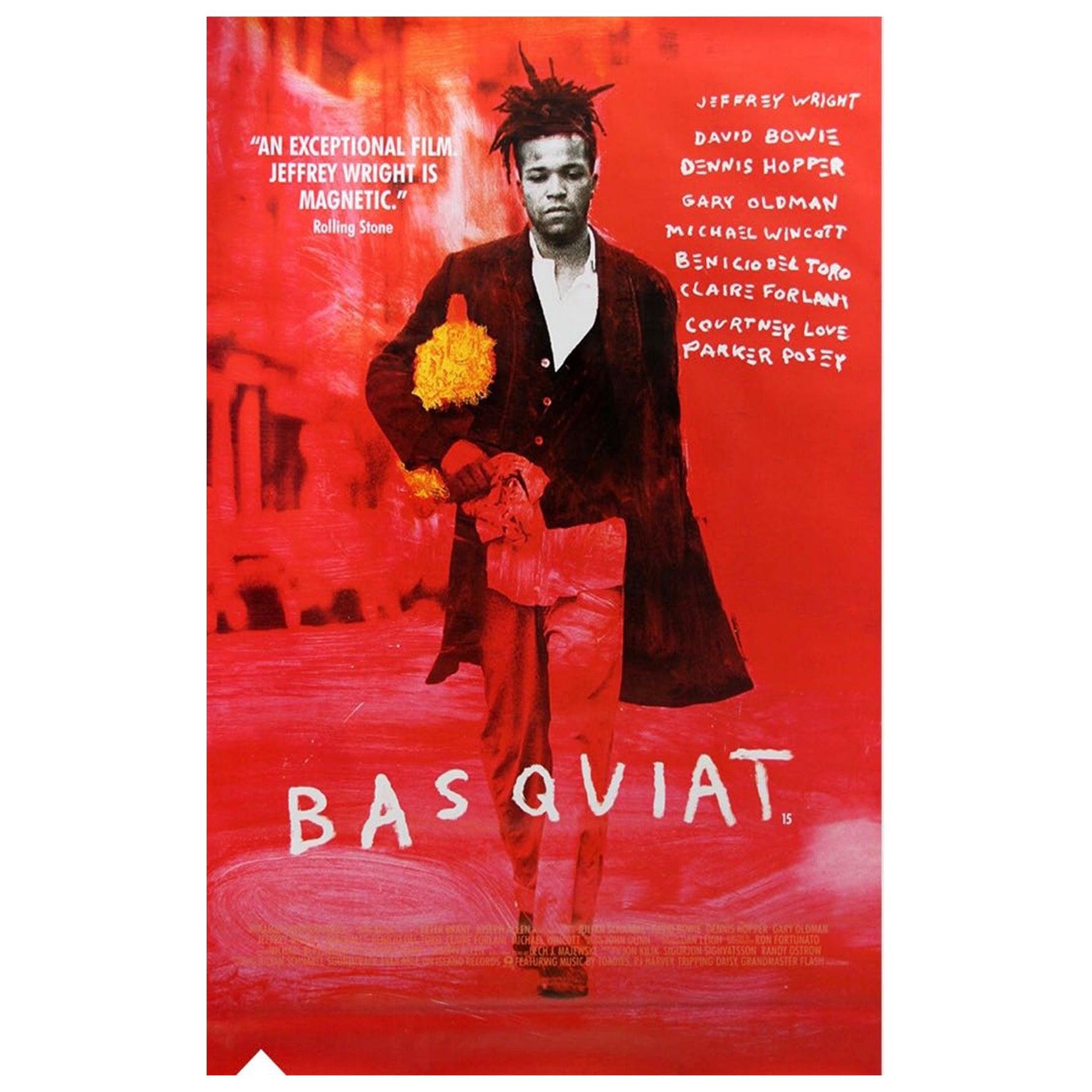 Original Adshel 'Basquiat' Movie Poster, circa 1996