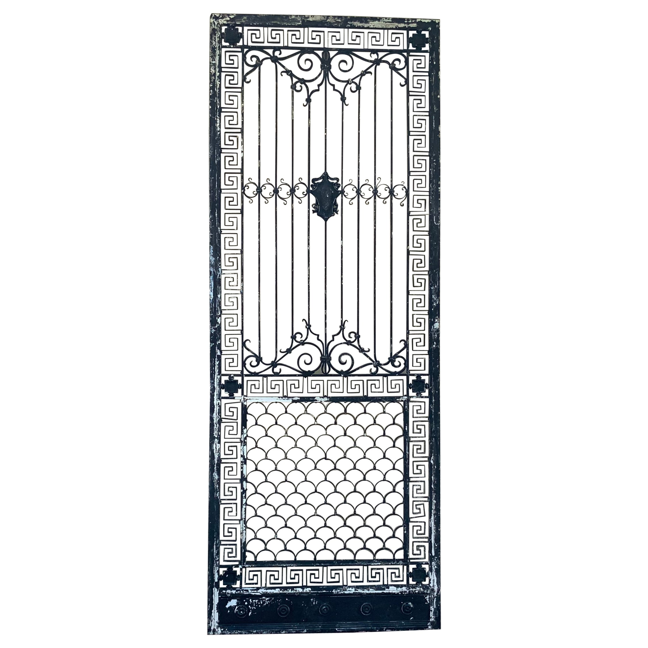 1930s Wrought Iron Gate or Door