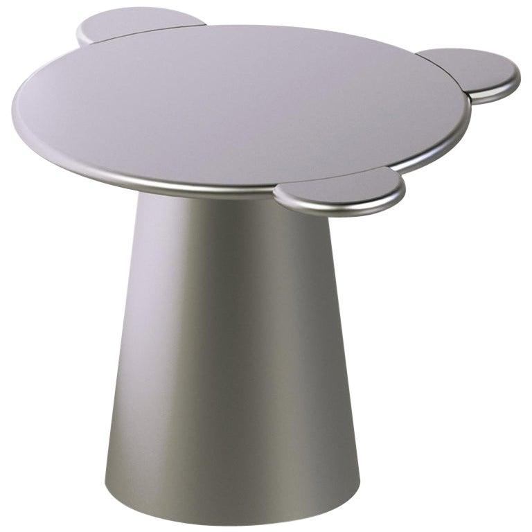 Donald Coffee Table Monochrome Silver