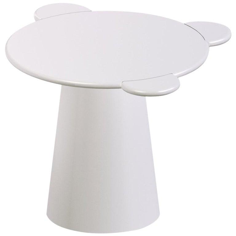 Donald Coffee Table Monochrome White