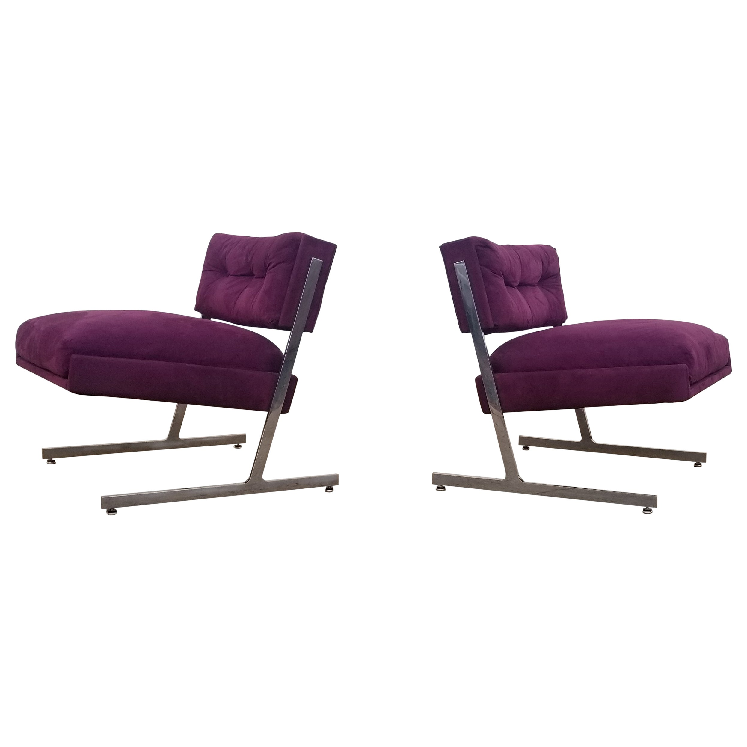Pair of Harvey Probber Lounge Chairs