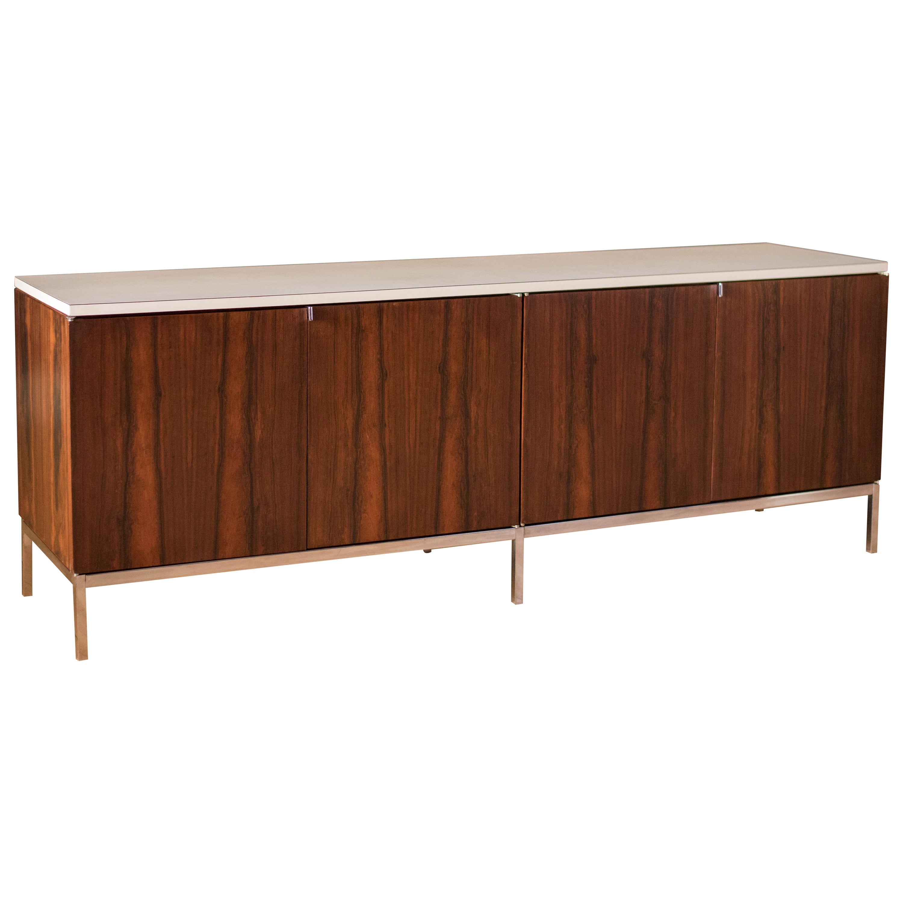 Mid-Century Modern Rosewood Credenza by Florence Knoll