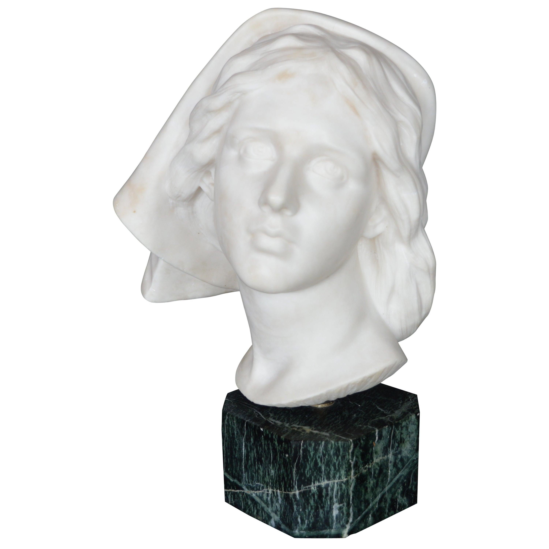 Late 19th Century Italian Marble Bust