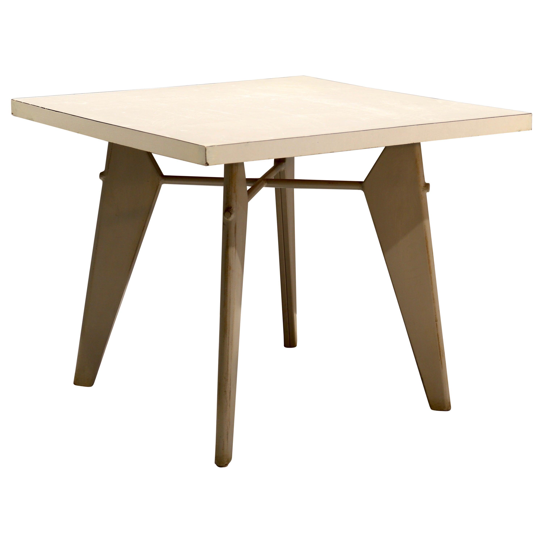 """Jean Prouvé """"Guéridon"""" Table, 1950s"""