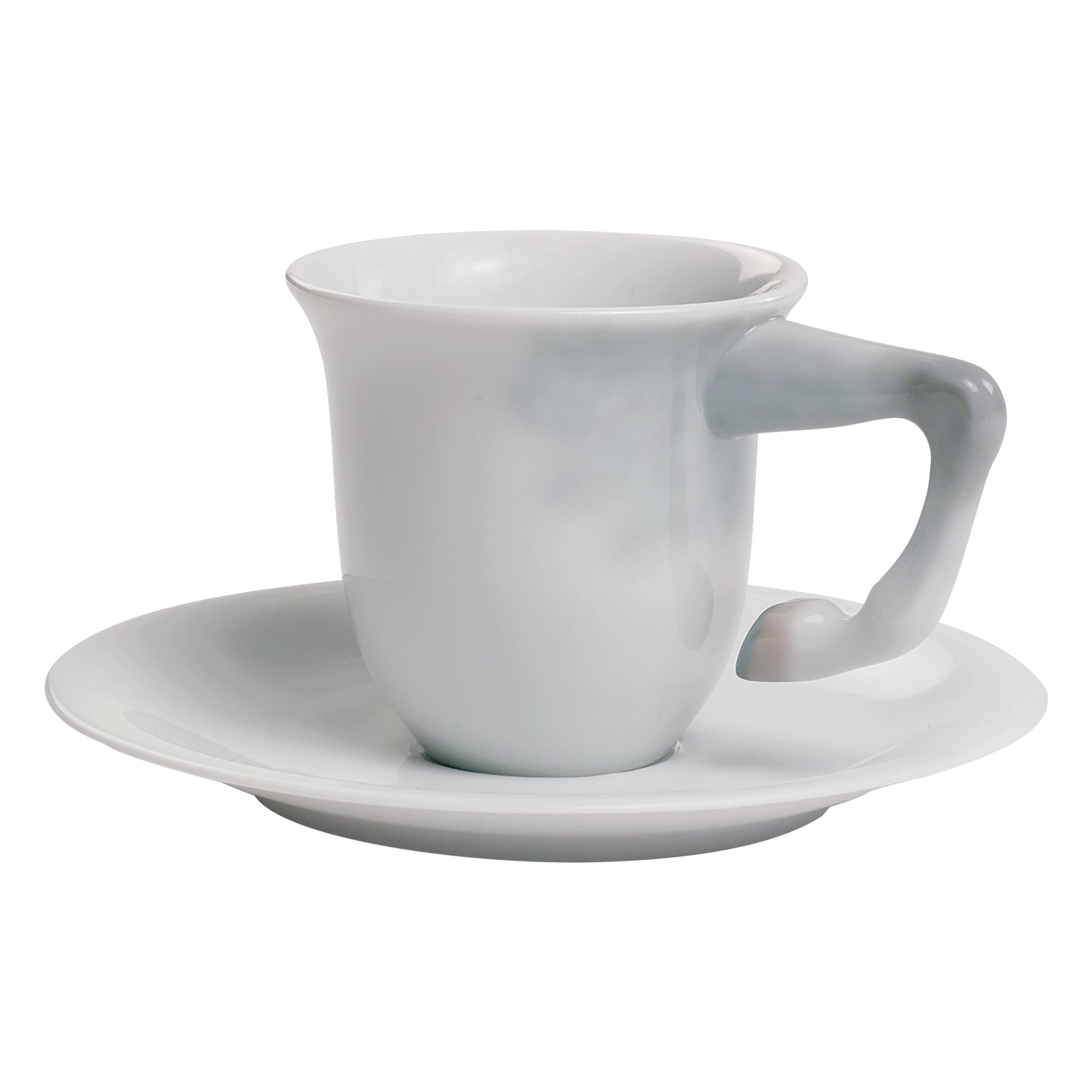 Lladro Equus Coffee Cup with Saucer by Bodo Sperlein