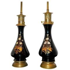 French Porcelain Lamps