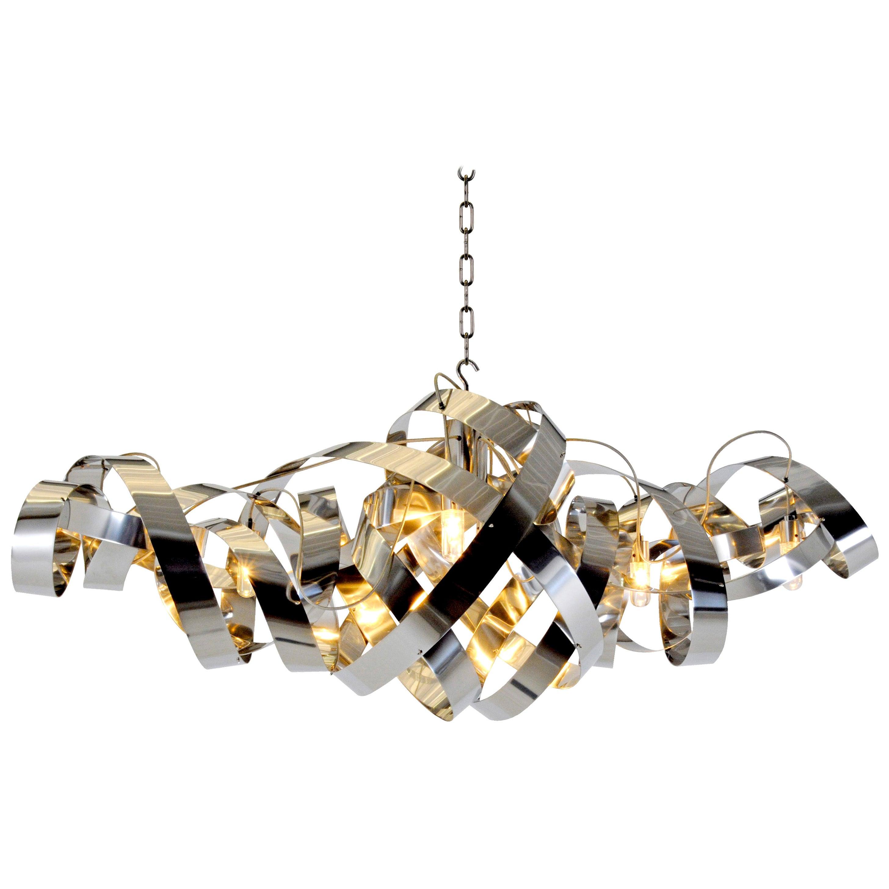 Jacco Maris LED Montone Oval Eight-Light Pendant