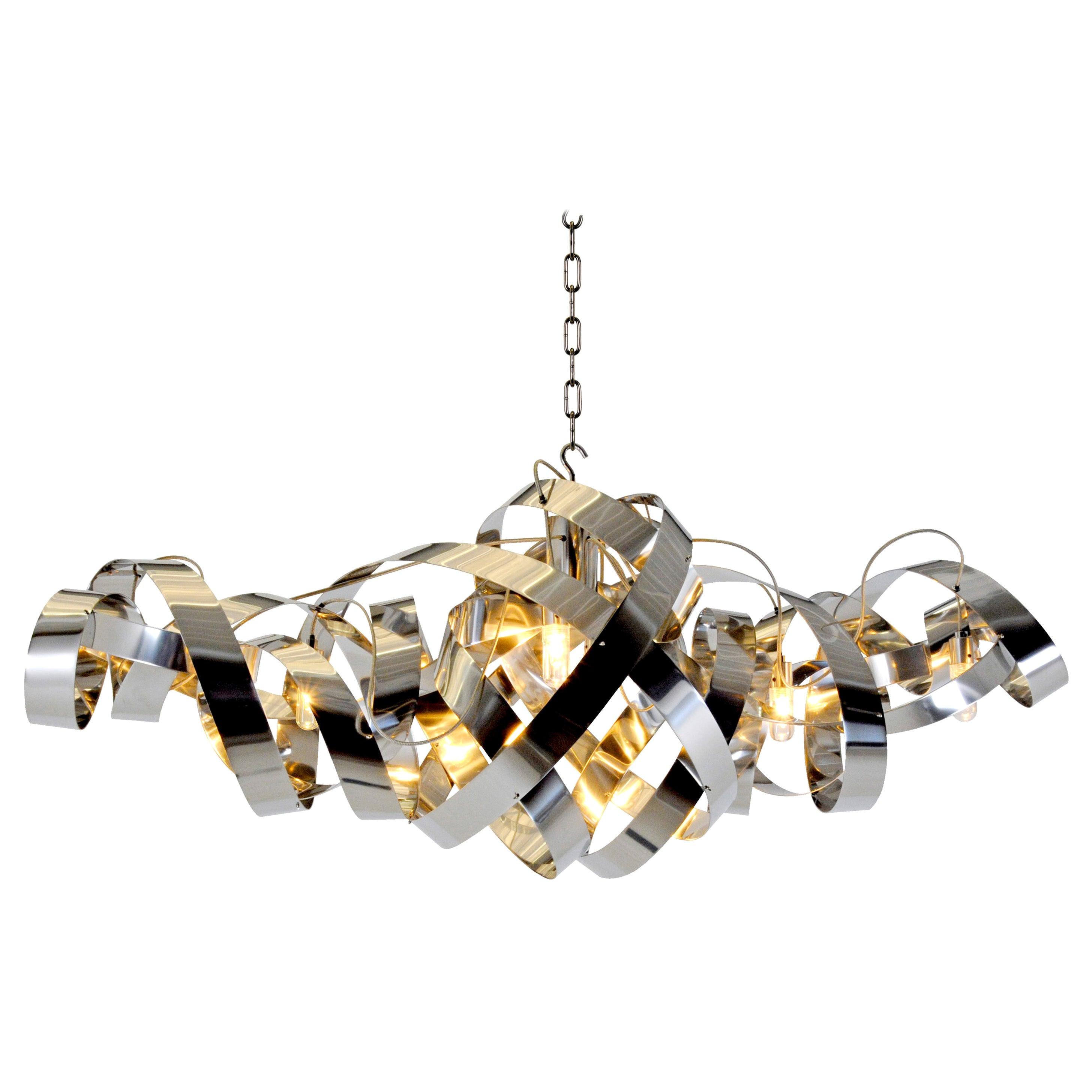 Jacco Maris LED Montone Oval Ten-Light Pendant